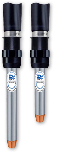 "D/F Water-Cooled-to-the-Tip 5"" & 8"" Standard MIG Torches"